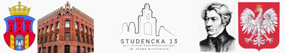 Liceum Ogólnokształcące XLII w Krakowie - Studencka 13